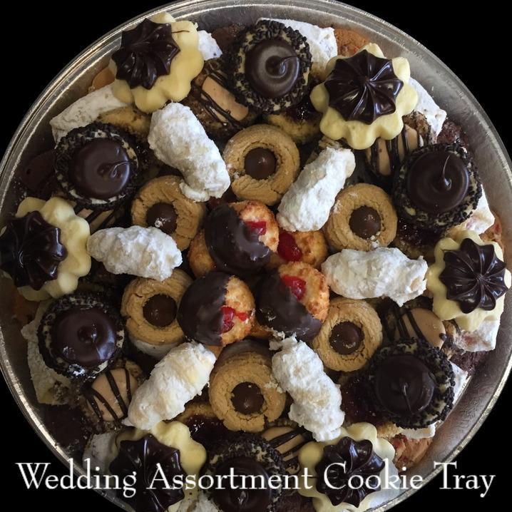 Wedding Assortment Cookie Tray