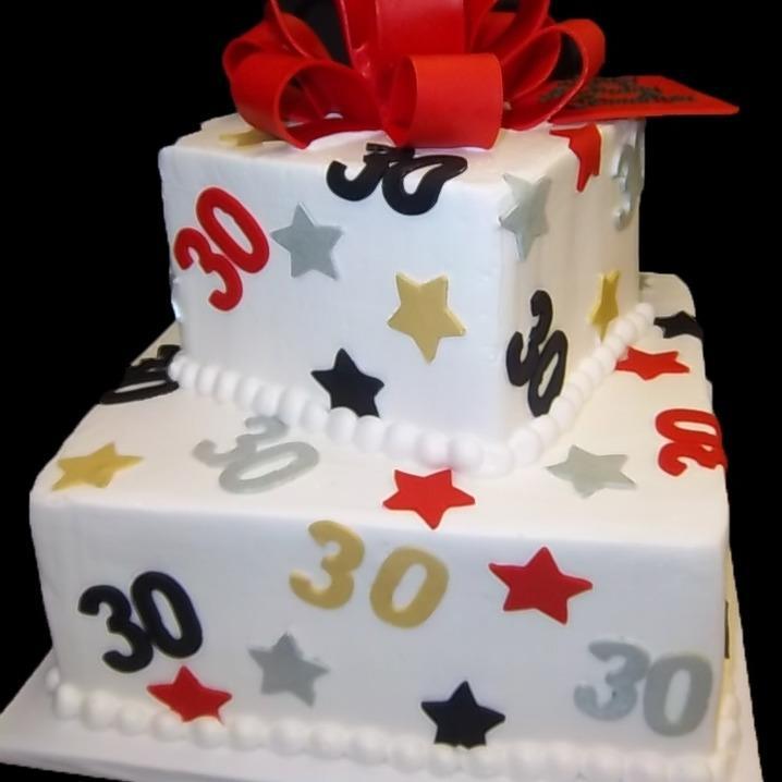 BIRTHDAY TIER CAKE - 25