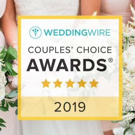 Wedding Wire Couple's Choice Awards 2019 badge